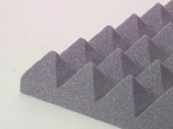 "Pyramid Design Panel 3"" Charcoal"