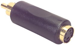 Dayton SVC1 S-Video Jack To RCA Plug Converter