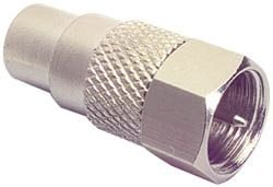 RCA Female To F Male Adapter