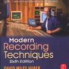 Modern Recording Techniques 6th Edition Book
