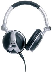 AKG K 181 DJ Professional Monitoring Headphones Closed Back