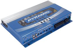Pyramid PB448X Super Blue 4x65W Amplifier