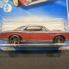Hotwheels 67 Gray/Red Pontiac GTO 2010 NIP