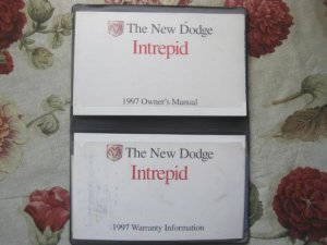 1997 Dodge Intrepid Owners Manual