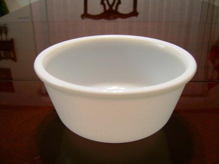 Vintage Hazel Atlas Milk Glass Mixing Nesting Bowl