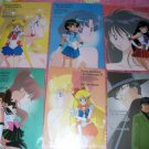 Sailor Moon Shitajiki Set of 6 *RARE*