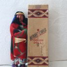 Antique MINNETONKA Indian Native American Skookum Doll with Original Box 1930s 1940s Alaskan