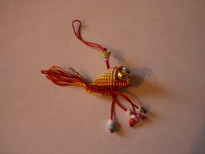 Golden Fish - Mobile Phone Charm