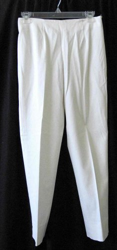 ERIC CASUAL Sexy Skinny Fitted White Pants Size 2