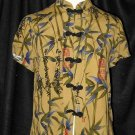 CLIO Petites Asian Inspired Blouse w/frog closuresSz PS
