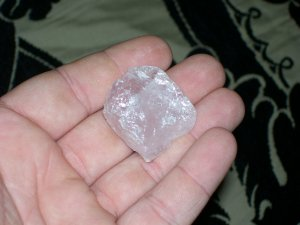 nice chunk rose quartz
