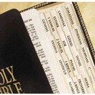 Bible Tabs, Gold, Regular Size