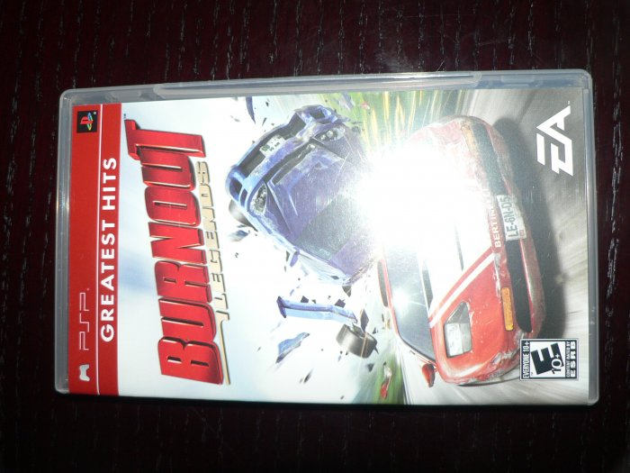Burnout Sony PSP Game