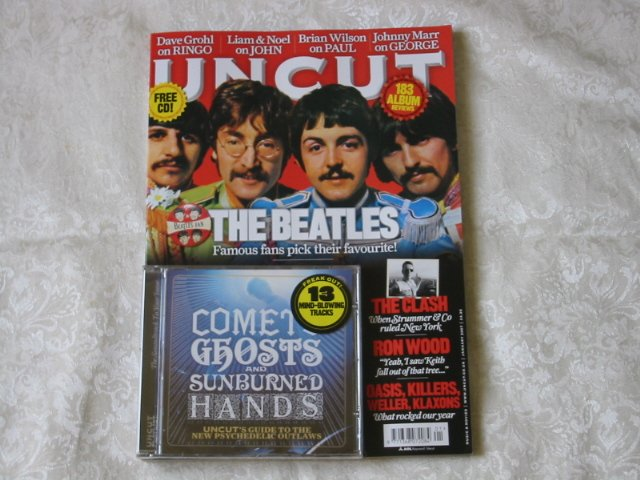 Uncut 116 THE BEATLES.  Comets, Ghosts and Sunburned Hands CD