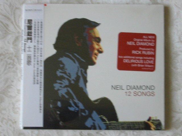 Neil Diamond - 12 Songs (CD 2006) NEW / SEALED