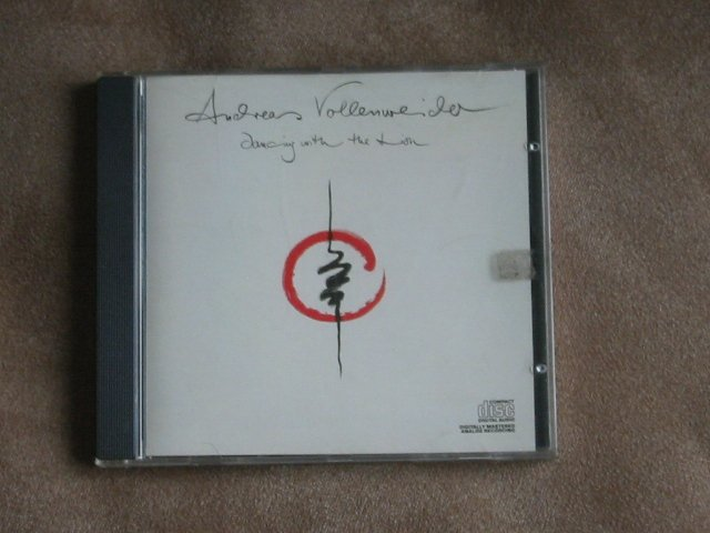 ANDREAS VOLLENWEIDER - DANCING WITH THE LION - CD