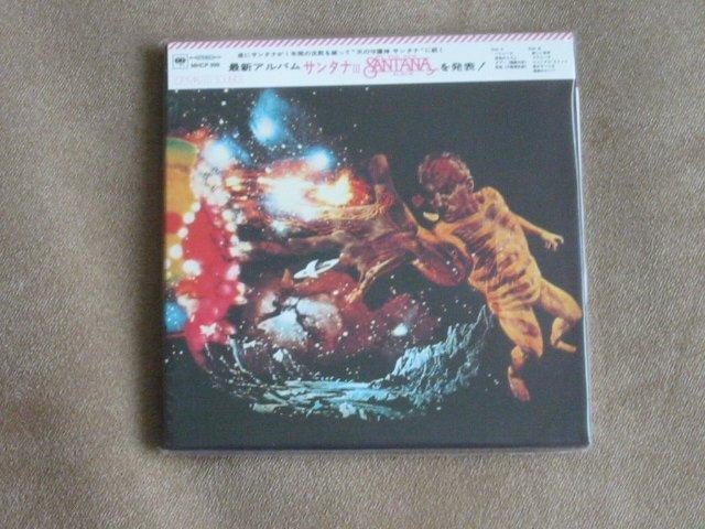 SANTANA 3 - JAPAN MINI LP - New and sealed CD