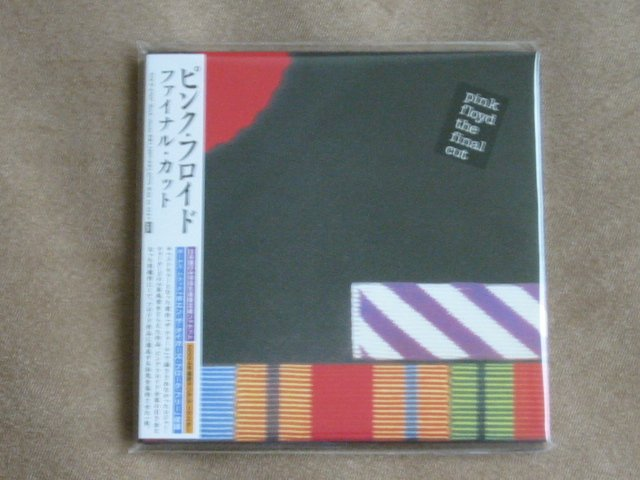 PINK FLOYD - THE FINAL CUT - JAPAN MINI LP - NEW CD