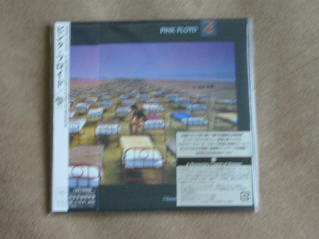 PINK FLOYD - A MOMENTARY LAPSE OF REASON - JAPAN MINI LP - NEW CD