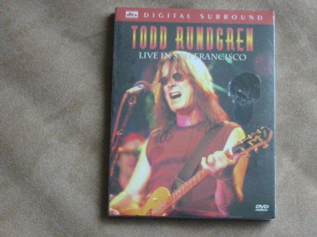 Todd Rundgren Live in San Francisco - New DVD
