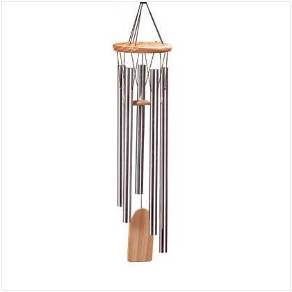 #  25306    Nature's own music  wood wind chime