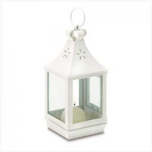#38468 Mini cutwork garden lantern