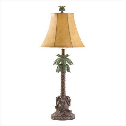 #  36001   Tropical Lamp