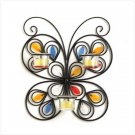 #37873 Jeweled wings butterfly candle holder