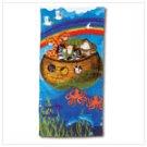 #37857 Noah's Ark Design Beach Towel
