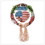 # 32345 �God Bless America� Wreath