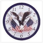 # 34103 Soaring Eagle Wall Clock