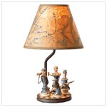 # 37627 Civil War Soldier Lamp
