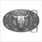 # 38830 Pewter Southwestern Belt Buckle