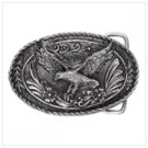 # 38831 Pewter Flying Eagle Belt Buckle