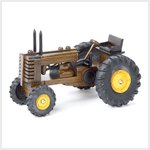 # 38866 Wood-Carved Tractor
