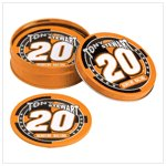 # 38355 Tony Stewart Tin Coaster Set