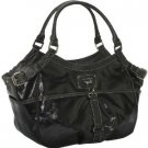 Via Spiga Caldo East/West Shopper Handbag - Black