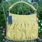 Via Spiga Terra Stitched Hobo Handbag - Solar