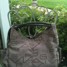 Via Spiga Delana Large Logo Shopper Handbag in Beige