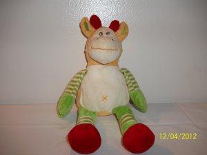 Waggleys Wishpets Plush Giraffe Lovey Stuffed Toy 92002