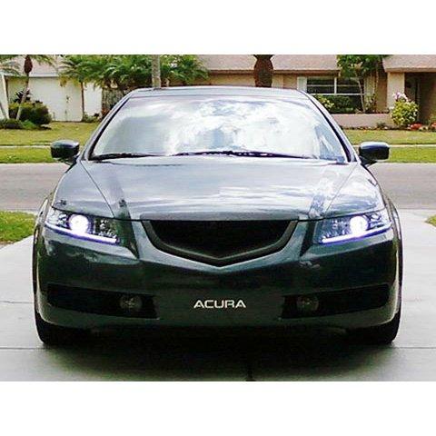 Acura TL Mesh Grille - 2006 acura tl front bumper