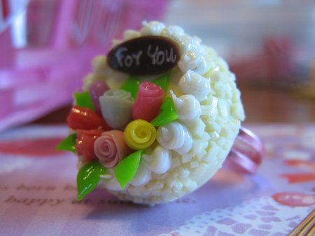 For you~ Cake ring!