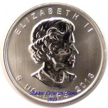 Brand New 2013 Canadian 1oz Five Dollar Silver Maple Leaf.
