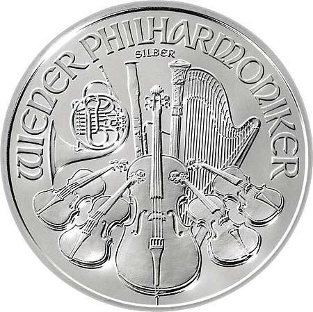 2013 Austrian Philharmonic 1 oz .999 Fine Silver FREE SHIPPING!