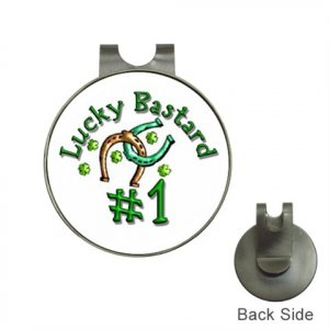 LUCKY  Ball Marker Hat Clip and  Ball Marker NEW
