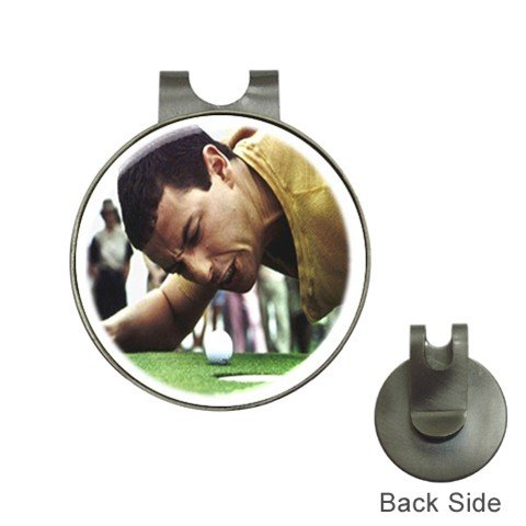 HAPPY GILMORE Golf Ball Marker Hat Clip and  Golf Ball Marker NEW 14816892