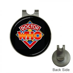 DOCTOR WHO Golf Ball Marker Hat Clip and  Golf Ball Marker NEW
