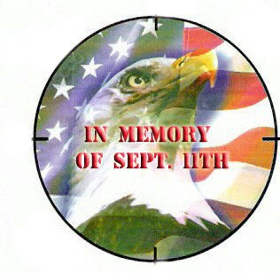 In Memory of Sept. 11th Button