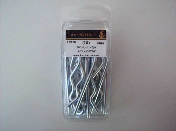 "Kit-Master Hitch Pin Clip  .125"" x 2-9/16""   CP130"