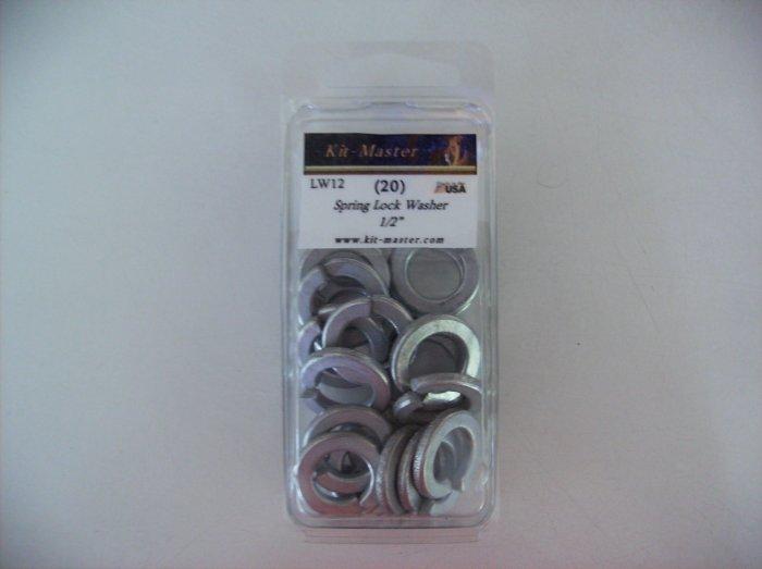 """Kit-Master 1/2"""" Spring Lock Washer  LW12"""